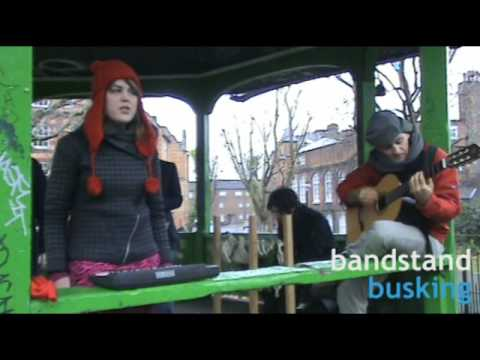 Psapp - I Want That - Bandstand Busking Acoustic Session