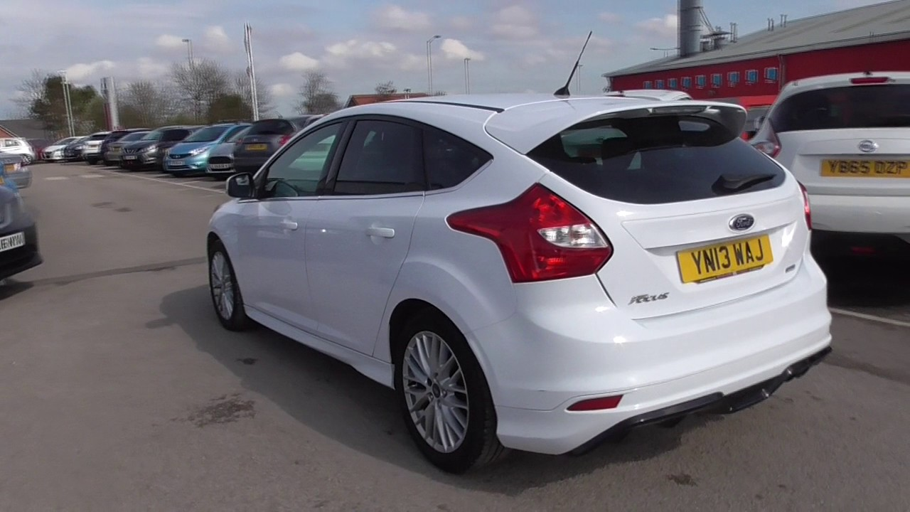 ford focus 1.6 182 ecoboost zetec s 5dr u14680 - youtube