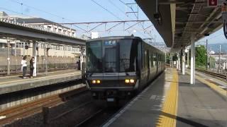JR西日本 223系2000番台 普通 野洲行き 膳所駅 20180515