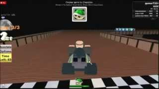 ROBLOX Mario Kart SNES Ghost Valley 2