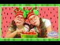 WATERMELON POOL SLUSHIE - Healthy kids frozen smoothie recipe - Crafty Kingdom BTS ep 4