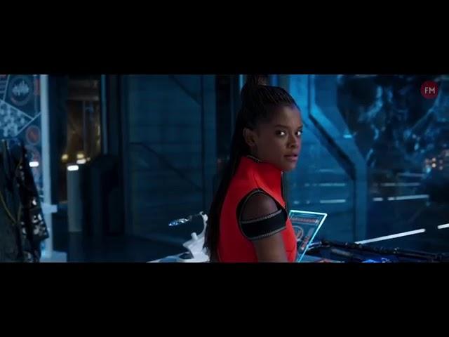 Black Panther 2018: Everett Ross meets Shuri [HD]