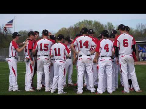 Spring Boys Varsity Baseball Baldwinsville VS Cicero North Syracuse High 4/27/2017