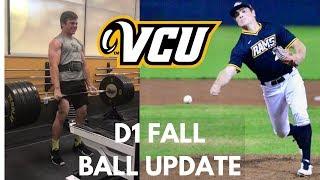 D1 Fall Baseball: Scrimmage and Big Lifts