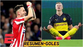 PARTIDAZOS de la Champions: Atlético de Madrid 1-0 Liverpool, Borussia Dortmund 2-1 PSG