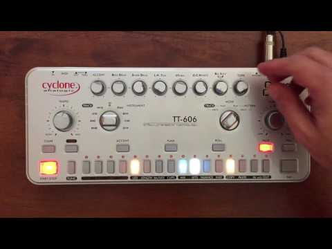 "Cyclone Analogic TT-606 Drum Machine Pt.  2 ""Making Beats"""