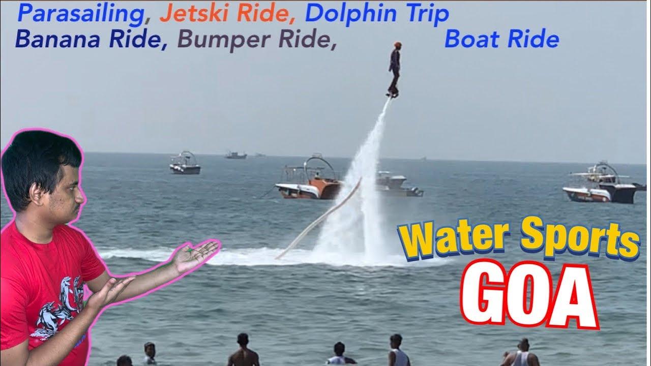 Calangute beach Watersports | GOA TOUR 2019 | Water Sports in Goa | Goa Beyond Beaches |  vlog #26