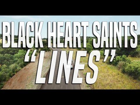 Black Heart Saints - Lines (Official Music Video)