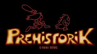 Prehistorik DOS Full Walkthrough