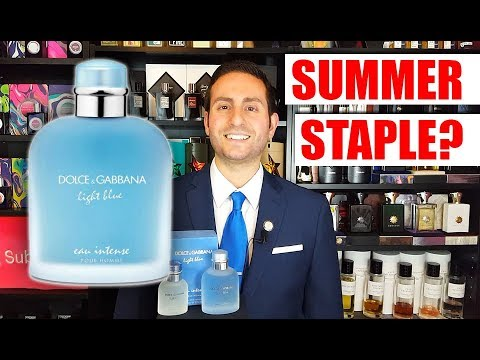 Dolce & Gabbana Light Blue Eau Intense Cologne / Fragrance Review