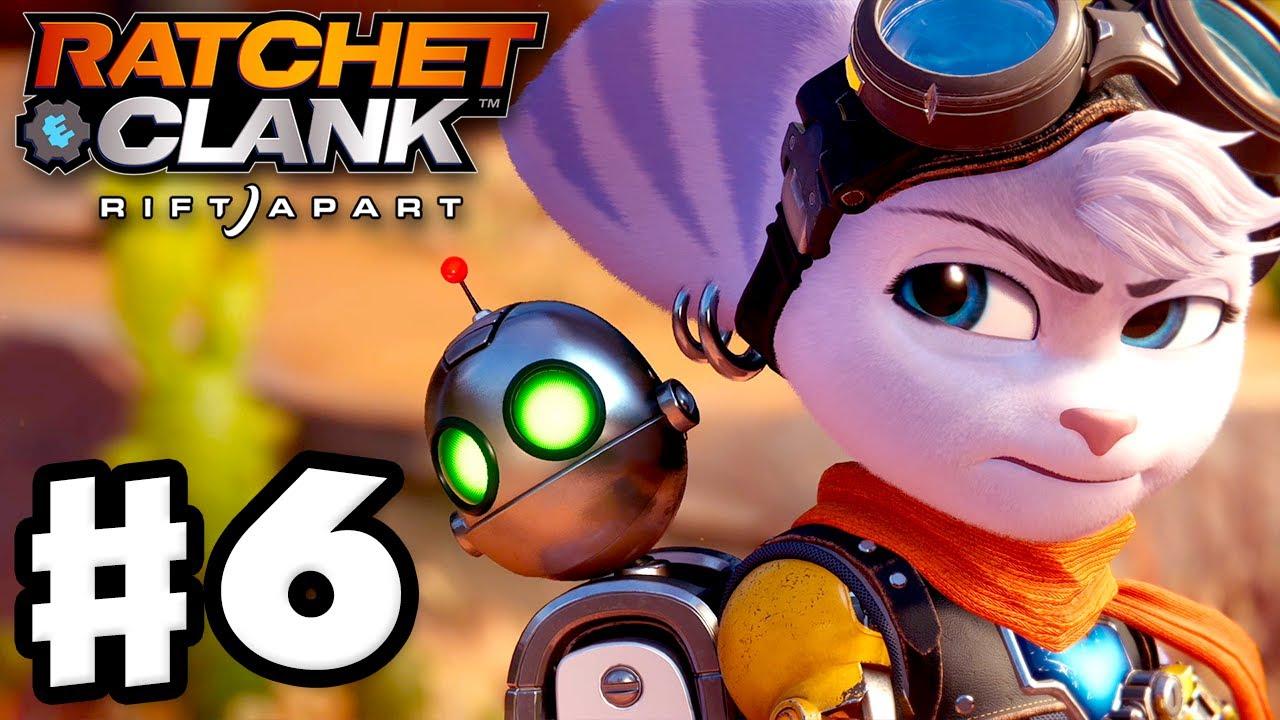 Ratchet & Clank: Rift Apart - Gameplay Walkthrough Part 6 - The Fixer! (PS5)