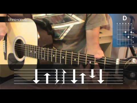 Rasgueos de Guitarra / Lección para Principiantes - Christianvib