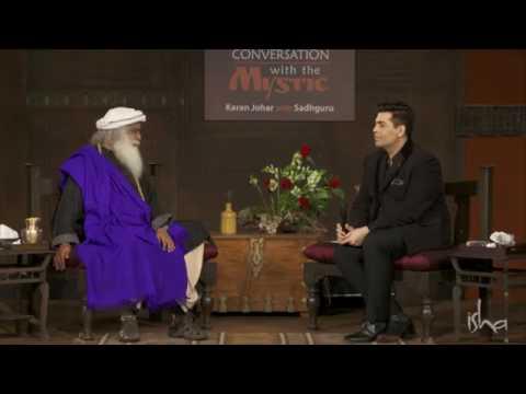 Why following Sadhguru- A lady asks Karan Johar- In Conversation With The Mystic