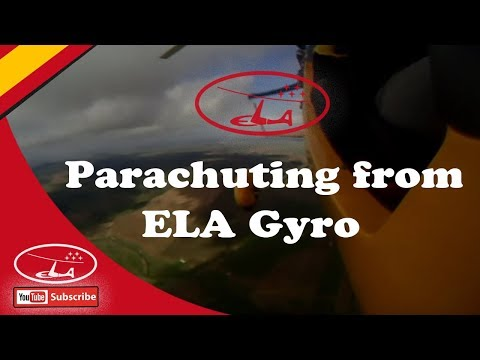 Parachuting from ELA Gyro