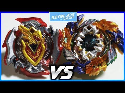 Z Achilles .11.Xt+ vs Geist Fafnir .8P.Ab - Beyblade Burst ベイブレードバースト