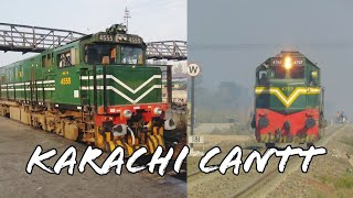 GEU20 VS GMU 30 Sound Comparison || Karachi Cantt Station