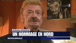 Les hommages du Nord Pas-de-Calais à Johnny Hallyday dans le JT Soir du 06/12/2017