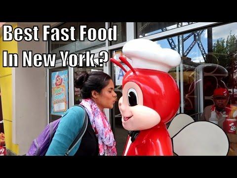 Trying Jollibee in Little Manila, New York ! (Giveaway Winner Announced)
