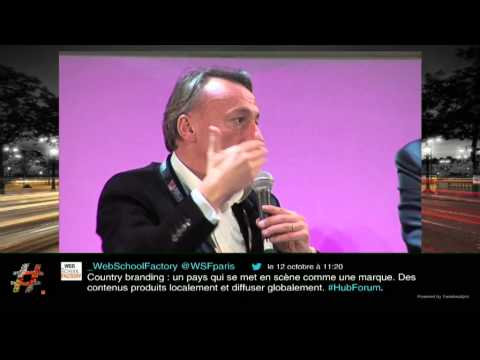 """Focus : Country branding"" par Aurélien Sallé, Digital Manager Atout France - HUBFORUM PARIS 2012"