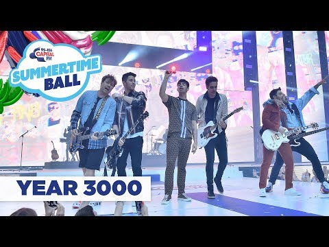 Jonas Brothers and Busted – 'Year 3000'   at Capital's Summertime Ball 2019
