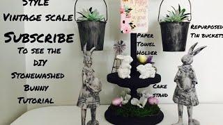 Farmhouse Style DIY Vintage Scale