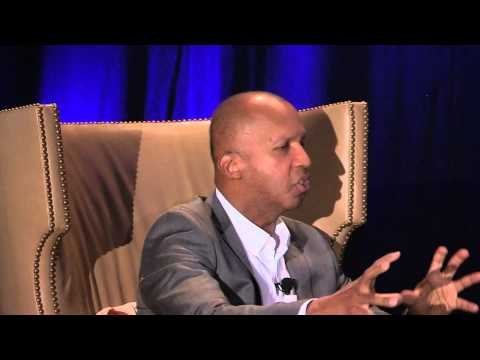 Cocktails & Conversations with Bryan Stevenson and Damien Echols at First-Year Experience® 2015