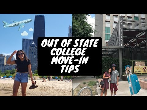 COLLEGE MOVE IN TIPS FOR OUT OF STATE SCHOOLS    Arizona State University