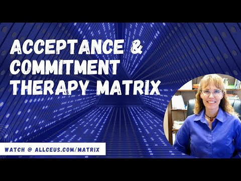 Counselor Toolbox  ACT Matrix What Every Counselor Should Know