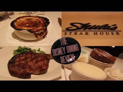 Shula's Steakhouse - Disney Dining Review