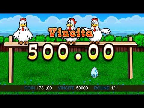Slot machine gallina uovo blu