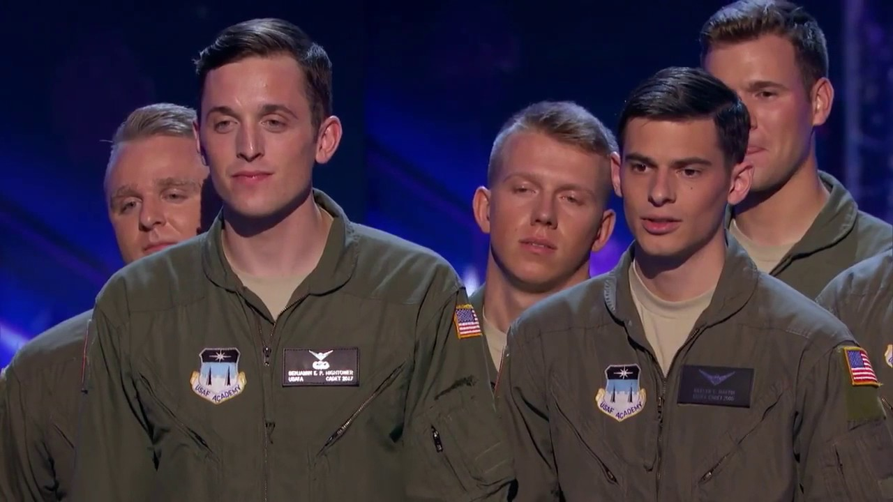 In The Stairwell: Airforce A Capella Group Covers *NSYNC