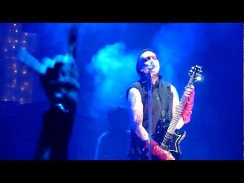 Marilyn Manson 'Slo-Mo-Tion' LIVE Birmingham NIA 29/11/2012