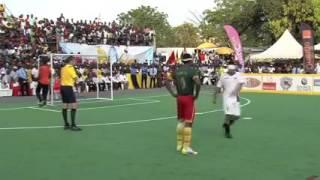 فوز المنتخب المغربي بلقب كأس أمم إفريقيا لكرة القدم للمكفوفي 2015 بالكامرون