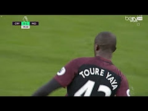 Download Yaya Toure scores second goal - Manchester City vs Crystal Palace 2-1 - Premier League - HD