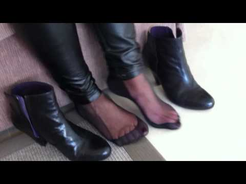 #71 black flats and stockings from YouTube · Duration:  2 minutes 41 seconds