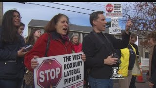 Activists Protest Spectra Energy Pipeline Project