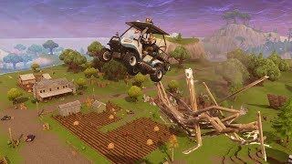 FLYING CART ONE DEAG | Fortnite Highlights Daily #53