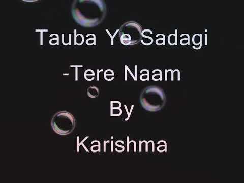 Tauba Ye sadgi Chehre Pe taazgi