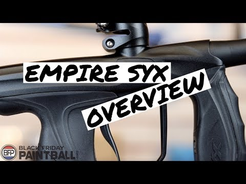 Empire SYX Paintball Gun Overview   New Clean Design Axe Pro