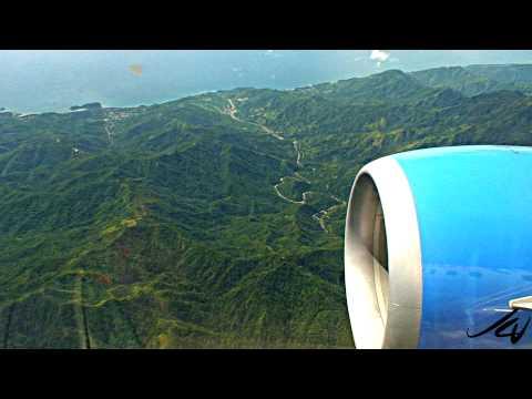 Boeing 737 - 20 minute flight - Manzanillo to Santiago de Cuba