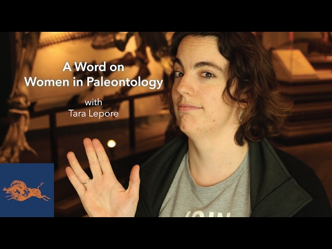 A Word on Women in Paleontology