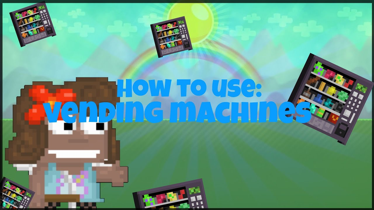 how to use a vending machine