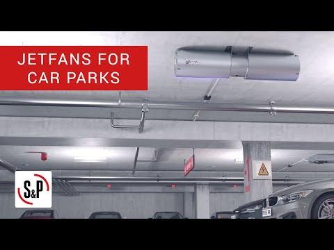 Jetfans Soler & Palau, car parks ventilation