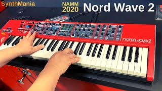 NAMM 2020 - Nord Wave 2