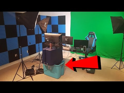 MY YOUTUBE & STREAMING SETUP VIDEO! FULL ROOM TOUR