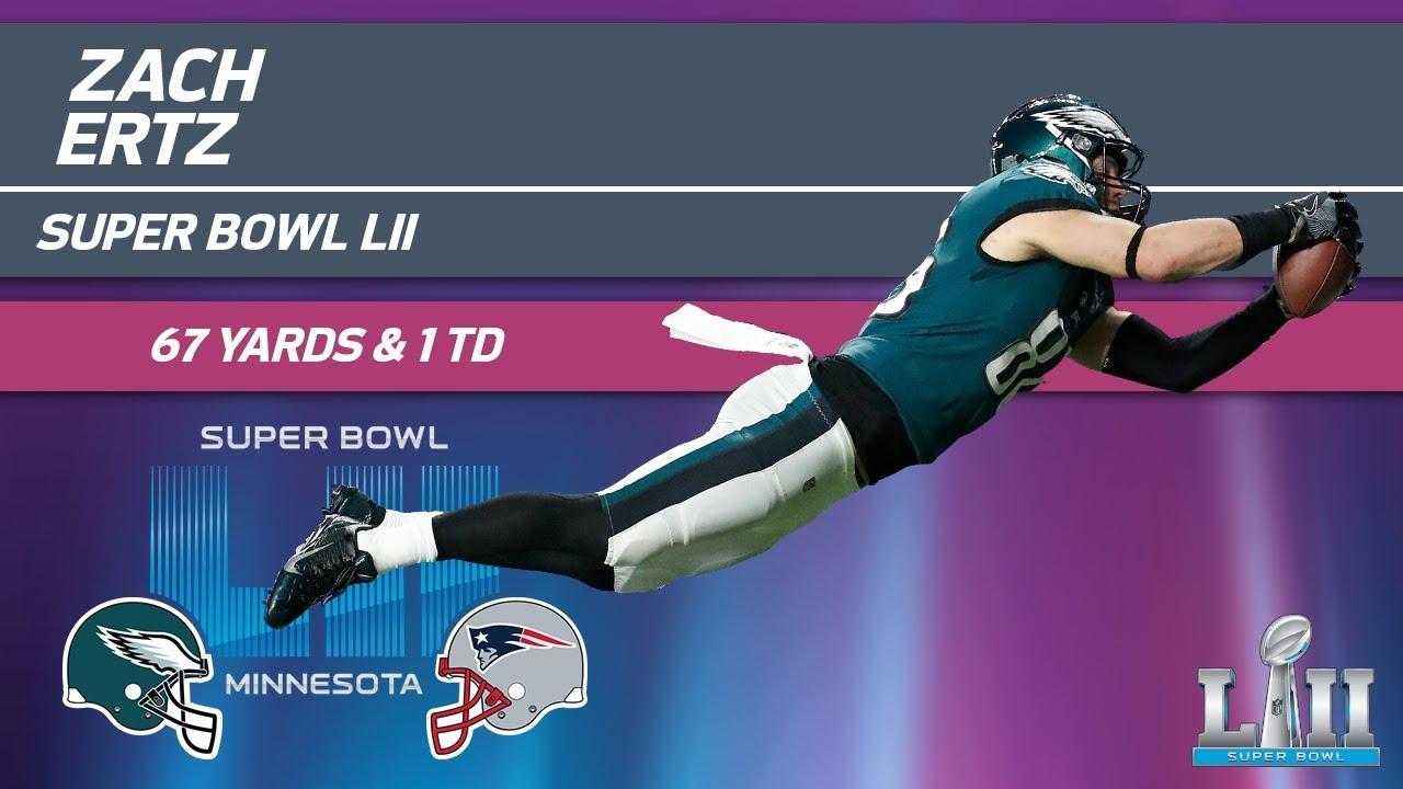 Zach Ertz s HUGE Game in Super Bowl LII  88a84bf83
