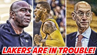 THE LOS ANGELES LAKERS ARE IN SERIOUS TROUBLE!   NBA News