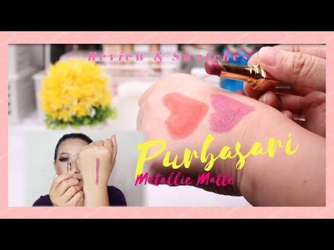 review-lipstik-purbasari-metallic-matte-||-goldstone-dan-carnelian