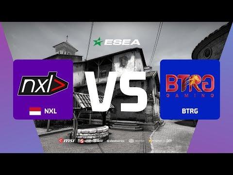 NXL (Indonesia) vs BTRG GAMING (Asia) ESEA SEASON 33