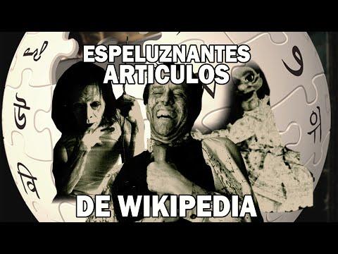 Las Páginas Más Espeluznantes Y Aterradoras De Wikipedia